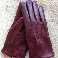 Women's Winter Gloves Lambskin leather Cashmere lining